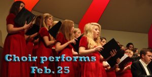 Choir performs Feb. 25