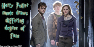 Harry Potter movie draws differing degree of fans