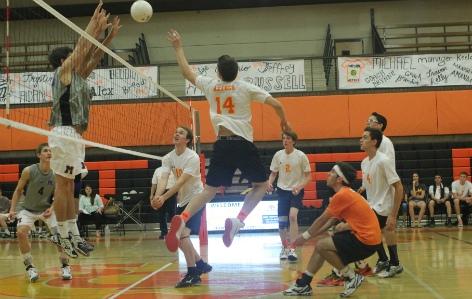 Boys volleyball faces top team in the state