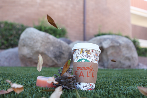 Fall into autumn with warm pumpkin spice
