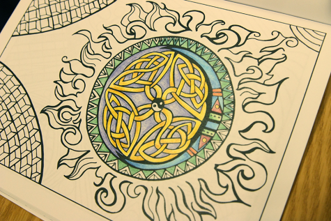 Library offering stress-relieving coloring sessions