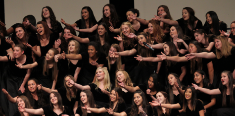 Last formal choir concert prove to be a success