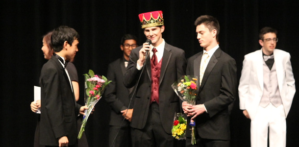 Tanner+Wilson+accepts+the+title+of+Mr.+Corona.+There+were+multiple+individual+categories%2C+but+Wilson+took+home+the+big+title.+