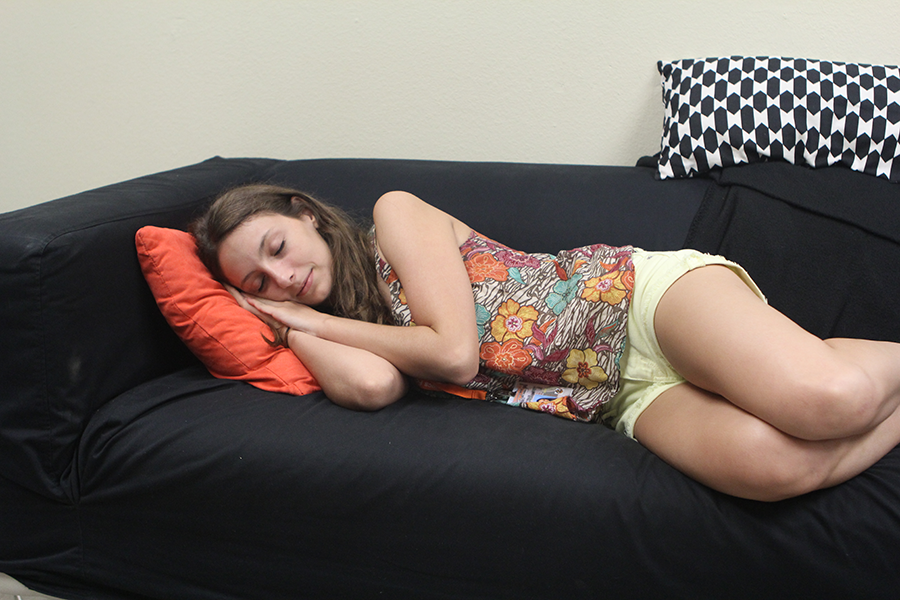 Teenagers are typically sleep deprived, and use any available time they have to catch up on sleep. Naps provide a good way to fit in a few hours of rest.