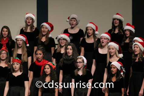 Winter choir concerts brings holiday cheer