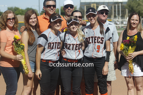 Softball Senior Night vs Boulder Creek