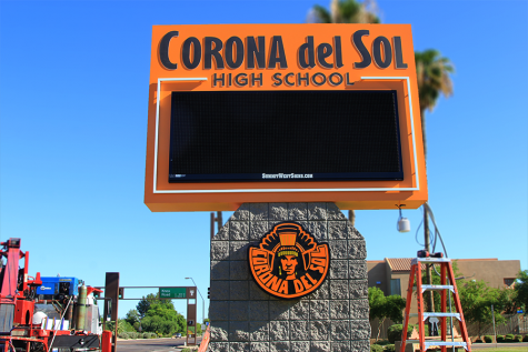 Corona updating the marquee