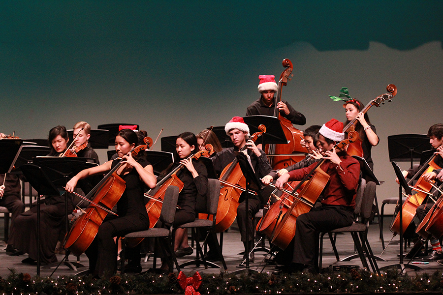 Corona puts on annual Holiday concert