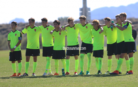 Boys Soccer vs Hamilton in the Arizona Soccer Showcase championship slideshow