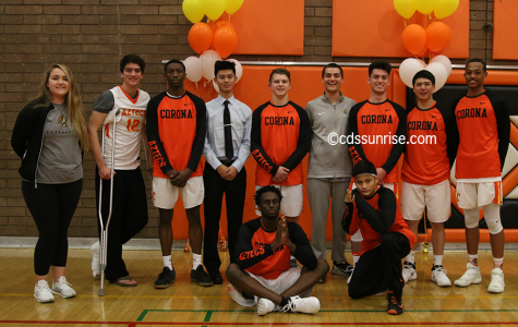 Boys Basketball vs Desert Vista Senior Night Slideshow